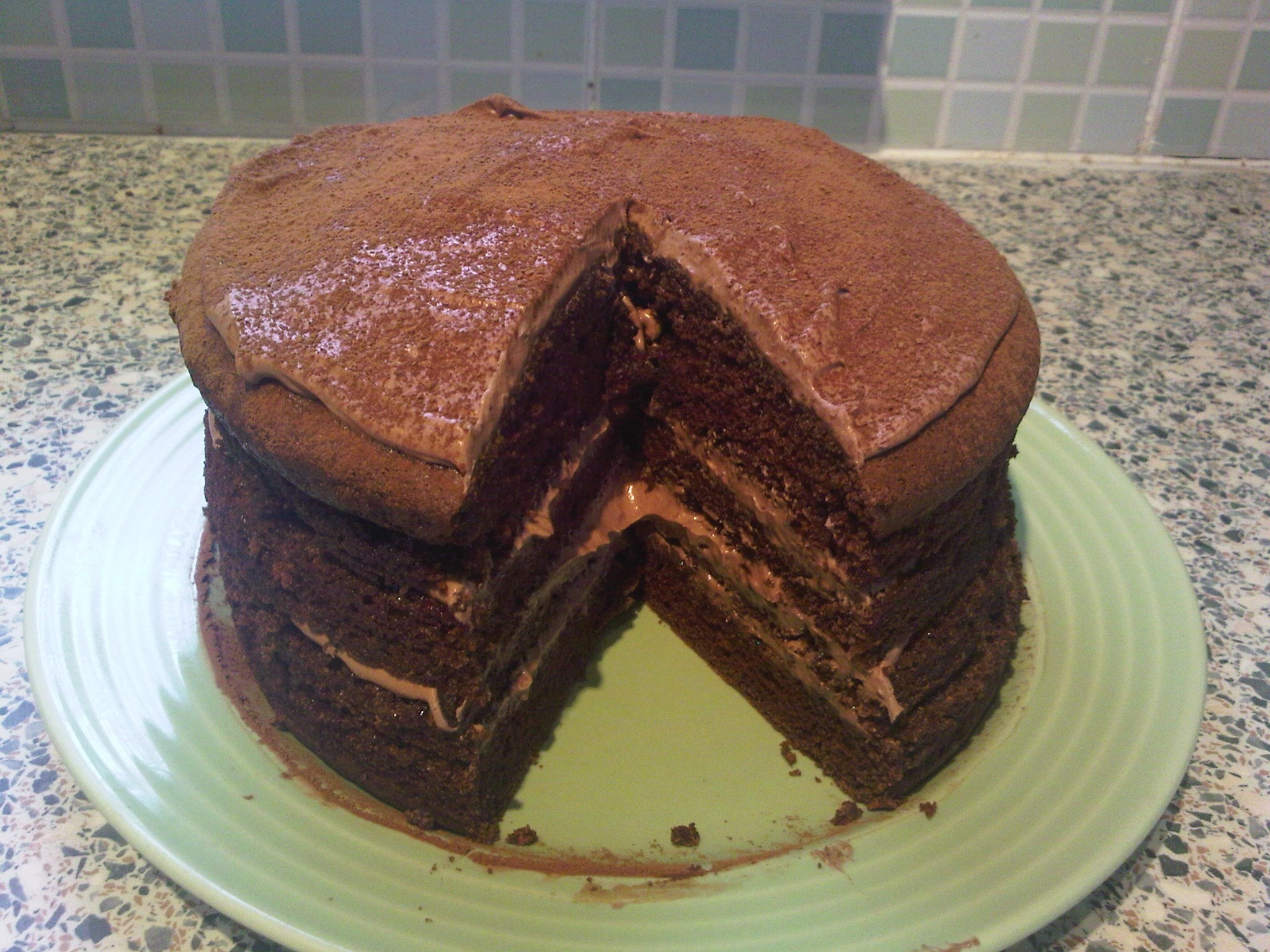 Chocolate Cake For Two Recipe