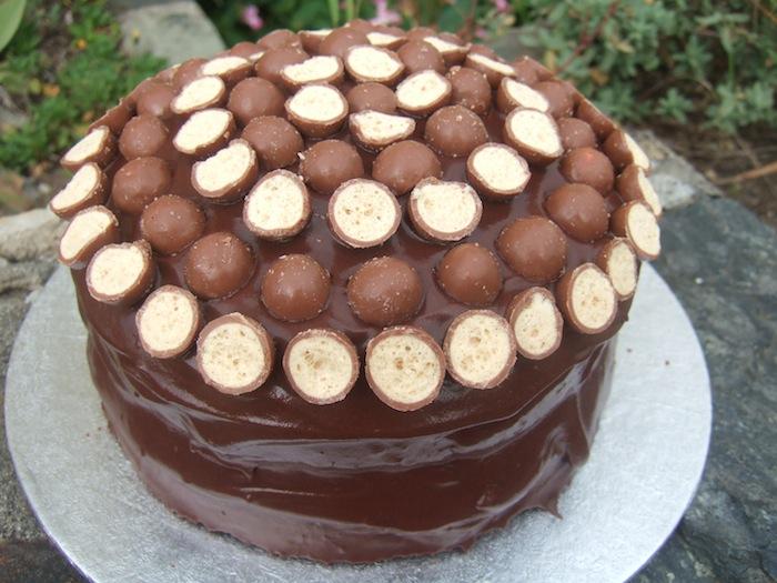 Malteser Birthday Cake Hungryhinny