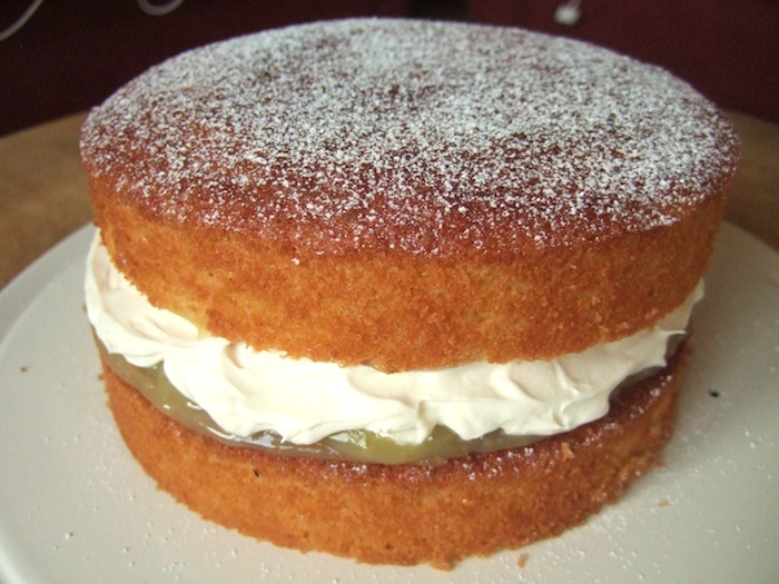 This coconut and lemon cream sandwich cake fits the bill perfectly ...