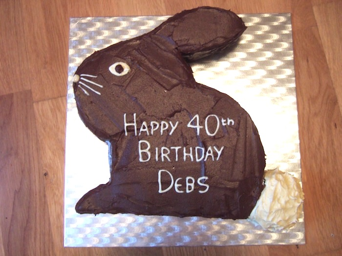 How To Make A Bunny Rabbit Birthday Cake Hungryhinny