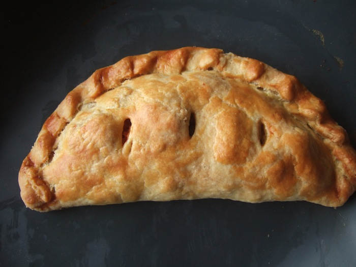 You may want to see this photo of cheese onion pasties