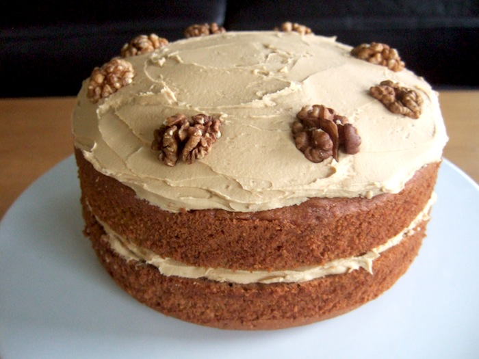 Nigellas Coffee And Walnut Cake Gf Hungryhinny