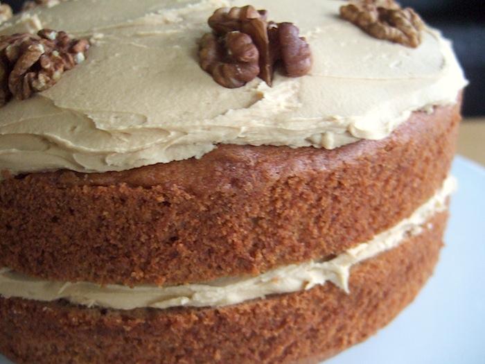 Nigellas Coffee And Walnut Cake Gf Hungryhinny