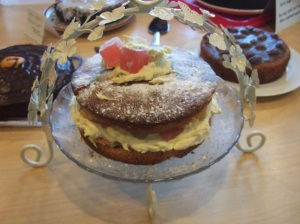 turkish delight victoria sponge