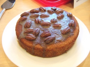 spiced coffee and date cake