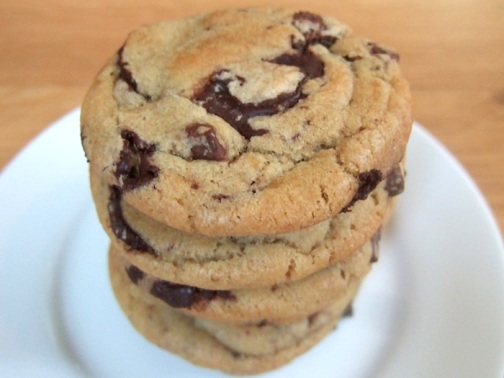 Choclate Chip Cookies With Cake Mix