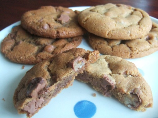 Biscoff chocolate chip cookie showdown